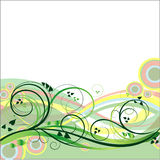 Floral vector background Royalty Free Stock Images