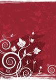 Floral vector background Stock Photo