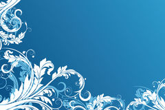 Floral Vector Background Royalty Free Stock Image