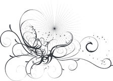 A Floral Vector Background Royalty Free Stock Photo