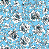 Floral vector background Stock Image