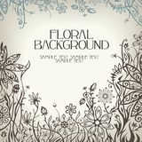 Floral vector background. This is file of EPS8 format Royalty Free Stock Image