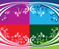FLORAL VECTOR BACKGROUND 2 Royalty Free Stock Photography