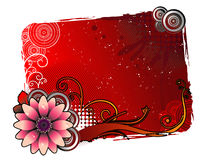 Floral vector banner Royalty Free Stock Photos