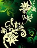 Floral vector composition Royalty Free Stock Photos