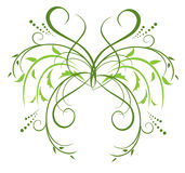 Floral vector decorative element for design Stock Image