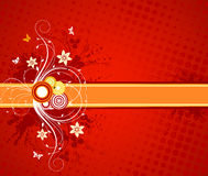 Floral Vector Design Stock Photos