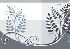 Floral vector design background Royalty Free Stock Photos
