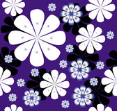 Floral vector design pattern Royalty Free Stock Images