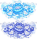 Floral vector elements Royalty Free Stock Photos