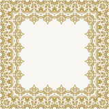 Floral Vector Fine Frame Royalty Free Stock Image