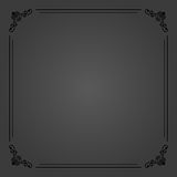 Floral Vector Fine Frame Royalty Free Stock Photography