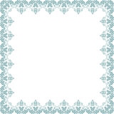 Floral Vector Fine Frame Stock Images
