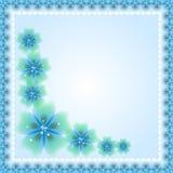 Floral Vector Fine Frame Stock Image