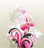 Floral vector illustration Royalty Free Stock Images