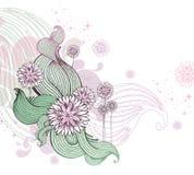 Floral vector illustration Stock Photos