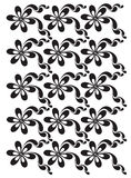Floral vector ornament Stock Image