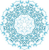 Floral vector ornament. Stock Images