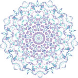 Floral vector ornament. Royalty Free Stock Images
