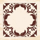 Vector floral ornament. Royalty Free Stock Photography