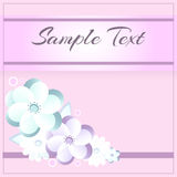 Floral vector pattern background Royalty Free Stock Photography