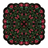 Colorful floral pattern. Floral vector pattern. Filigree ornament. Colorful template for textile, shawl, carpet Royalty Free Stock Images