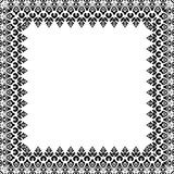 Floral Vector Pattern. Fine Frame Stock Photos