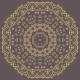 Floral Vector Pattern. Orient Abstract Background Stock Photography