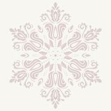 Floral Vector Pattern. Orient Abstract Background Royalty Free Stock Image