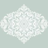 Floral Vector Pattern. Orient Abstract Background. Floral vector oriental pattern with damask, arabesque and floral elements. Abstract wallpaper and background Royalty Free Stock Images