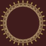 Floral Vector Pattern. Orient Abstract Background Royalty Free Stock Images