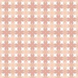 Floral vector pattern in pink and coral tones inspired by 70`s wallpaper vector illustration