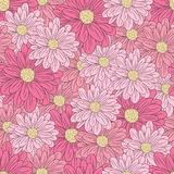 Floral vector pattern Stock Photo