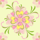 Floral vector seamless pattern Stock Photo