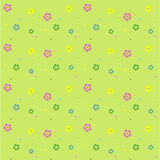 Floral vector seamless pattern. This is a vector image - you can simply edit colors and shapes Stock Images