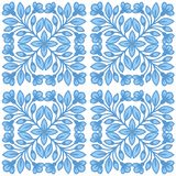 Floral vector seamless pattern in Russian ethnic style.. Stock Photography