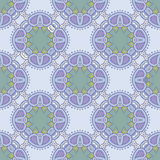 Floral vector seamless pattern in soft colors Royalty Free Stock Image