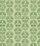 Floral vert Photos libres de droits
