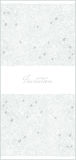 Floral vertical invitation card Stock Photos