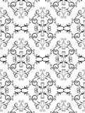 Floral victorian pattern Royalty Free Stock Photos