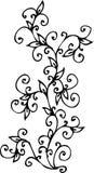 Floral vignette Royalty Free Stock Images