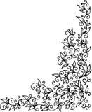 Floral vignette CLXVIII Stock Photo