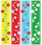 Floral vine pattern Royalty Free Stock Photo
