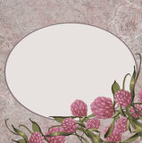 Floral Vintage Background Royalty Free Stock Photography