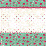 Floral vintage background Royalty Free Stock Photo