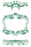 Floral vintage decorations royalty free illustration