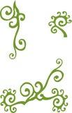 Floral vintage element Stock Images