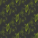 Floral vintage flower pattern vector Stock Image