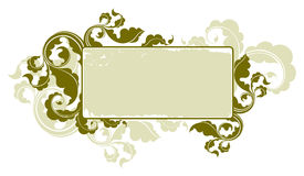 Floral vintage frame 1 Stock Photography