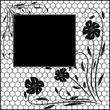Floral vintage frame Royalty Free Stock Images